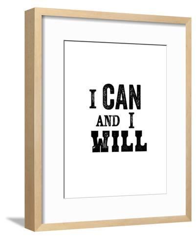 I Can And I Will-Brett Wilson-Framed Art Print