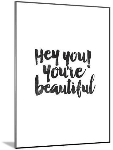 Hey You Youre Beautiful-Brett Wilson-Mounted Art Print