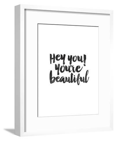 Hey You Youre Beautiful-Brett Wilson-Framed Art Print