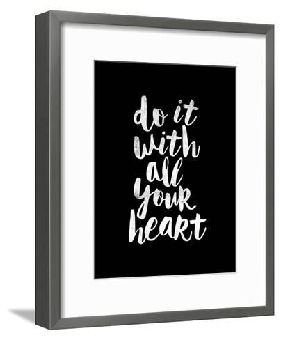 Do It With All Your Heart-Brett Wilson-Framed Art Print