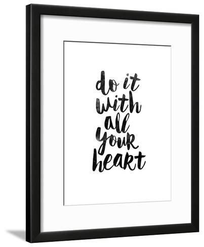 Do It With All Your Heart 2-Brett Wilson-Framed Art Print