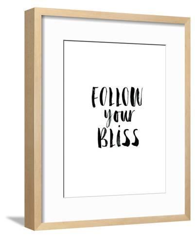 Follow Your Bliss-Brett Wilson-Framed Art Print