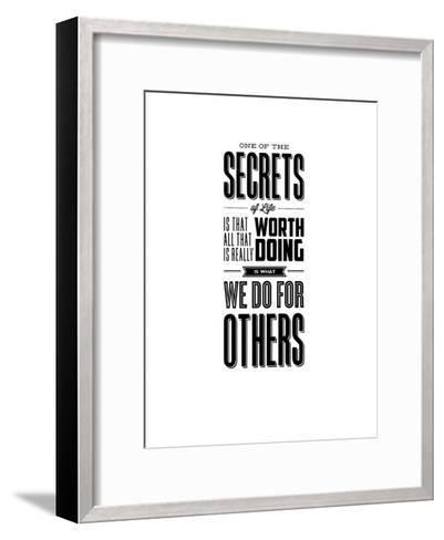 One of the Secrets of Life-Brett Wilson-Framed Art Print