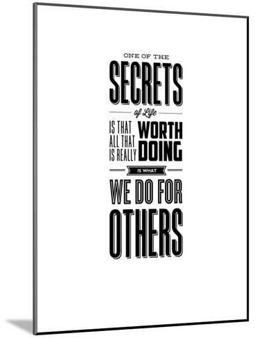 One of the Secrets of Life-Brett Wilson-Mounted Art Print