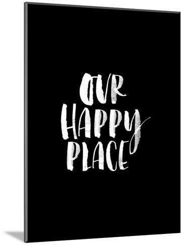 Our Happy Place BLK-Brett Wilson-Mounted Art Print