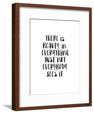 There Is Beauty In Everything Watercolor-Brett Wilson-Framed Art Print