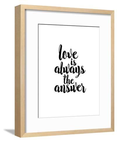 Love is Always the Answer-Brett Wilson-Framed Art Print