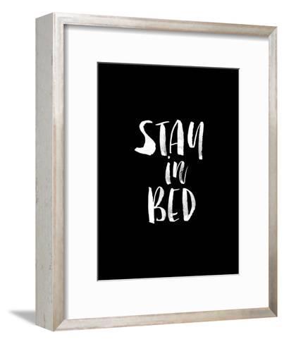 Stay In Bed BLK-Brett Wilson-Framed Art Print