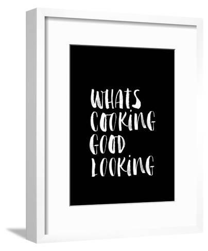 Whats Cooking Good Looking BLK-Brett Wilson-Framed Art Print
