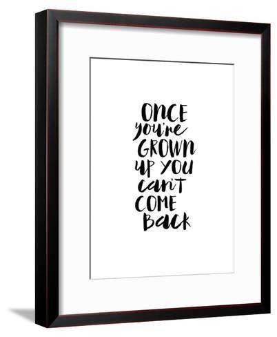 Once Youre Grown Up You Cant Come Back-Brett Wilson-Framed Art Print