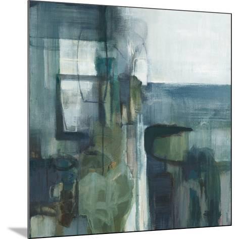 Blue Geometry-Terri Burris-Mounted Art Print