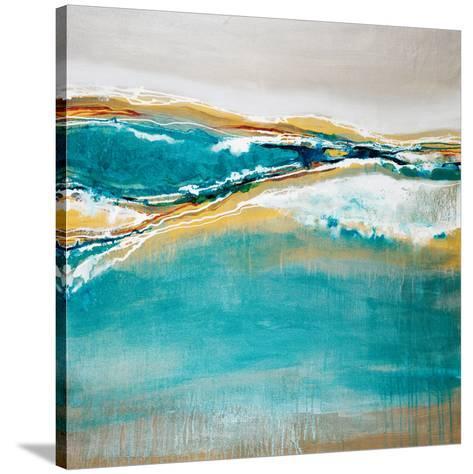 Aqua Quartz-Liz Jardine-Stretched Canvas Print