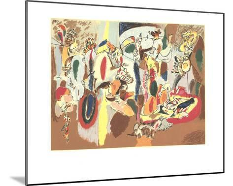 The Liver is the Cock's Comb-Arshile Gorky-Mounted Serigraph