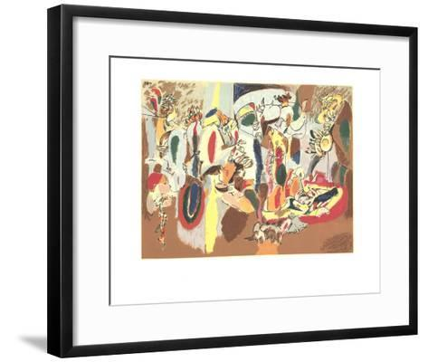 The Liver is the Cock's Comb-Arshile Gorky-Framed Art Print