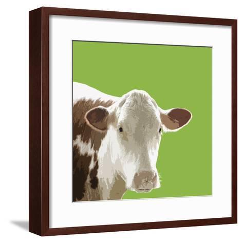 Buttercup-Linda Wood-Framed Art Print