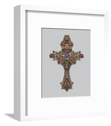 Cross IV-Maria Mendez-Framed Art Print