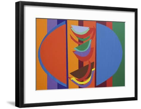 Frisky, 2003-Terry Frost-Framed Art Print