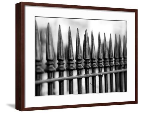 London Railings II-Joseph Eta-Framed Art Print