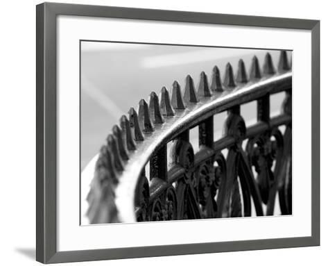 London Railings IV-Joseph Eta-Framed Art Print