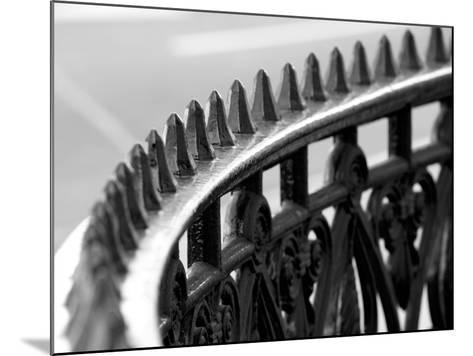 London Railings IV-Joseph Eta-Mounted Giclee Print
