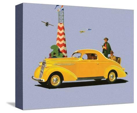 Studebaker Dictator, Vintage Car Advertising--Stretched Canvas Print