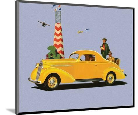 Studebaker Dictator, Vintage Car Advertising--Mounted Art Print