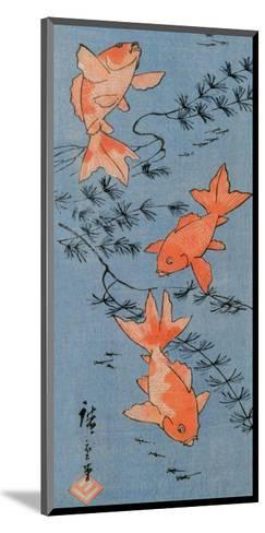 Goldfishes, 1843-Utagawa Hiroshige-Mounted Art Print