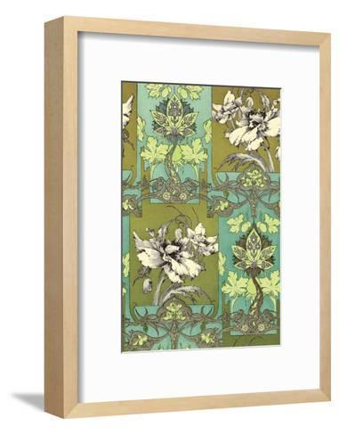 Art Nouveau Flower, Plate 31-Jules-Auguste Habert-Dys-Framed Art Print