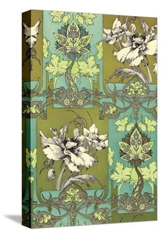 Art Nouveau Flower, Plate 31-Jules-Auguste Habert-Dys-Stretched Canvas Print