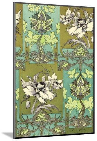 Art Nouveau Flower, Plate 31-Jules-Auguste Habert-Dys-Mounted Art Print
