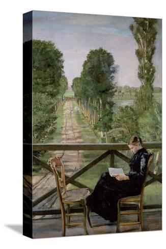 Villa Britannia, 1885-Christian Krohg-Stretched Canvas Print