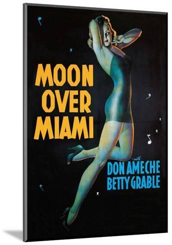 Moon Over Miami - Vintage Movie Poster--Mounted Art Print
