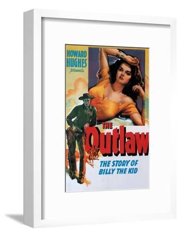 Vintage Movie Poster - The Outlaw--Framed Art Print