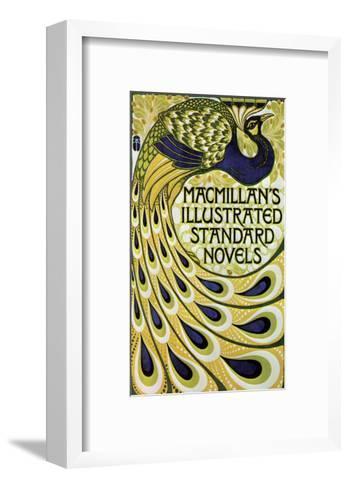 Vintage Poster Advertising Macmillan's Novels--Framed Art Print