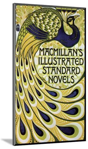 Vintage Poster Advertising Macmillan's Novels--Mounted Art Print