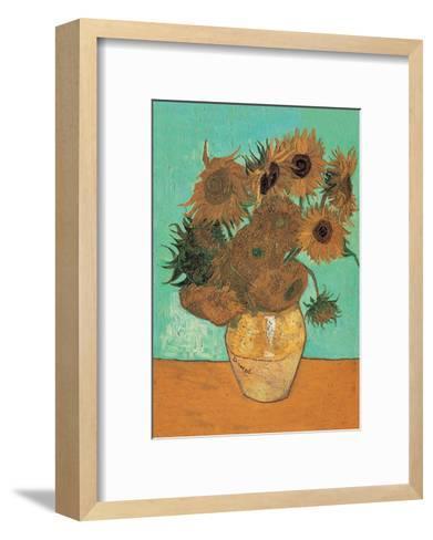 Sunflowers, 1888-Vincent van Gogh-Framed Art Print
