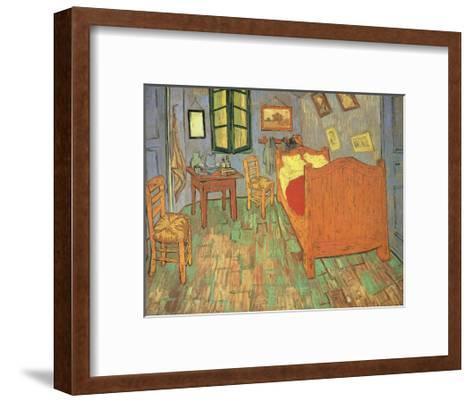 Room at Arles, 1889-Vincent van Gogh-Framed Art Print