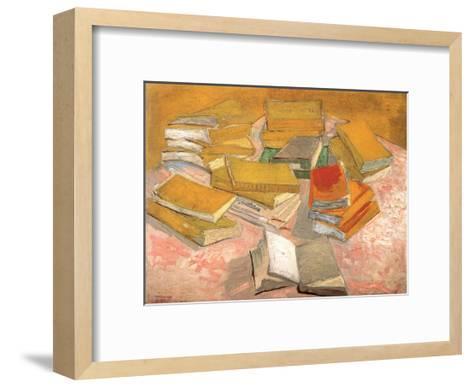 Still Life with Books, 1887-Vincent van Gogh-Framed Art Print