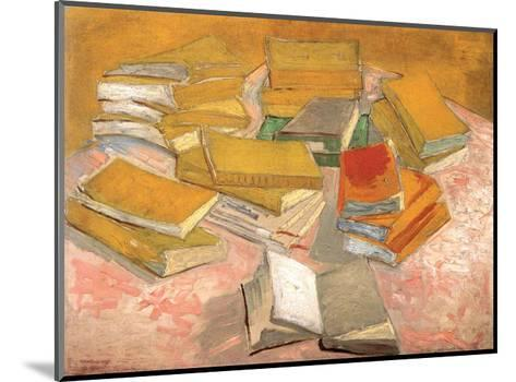 Still Life with Books, 1887-Vincent van Gogh-Mounted Art Print