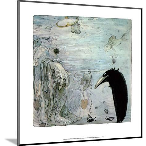 Water Troll-John Bauer-Mounted Art Print