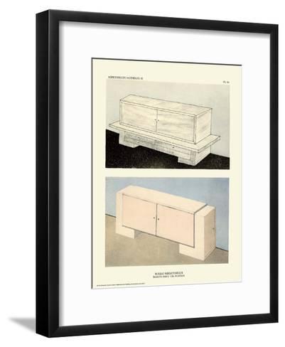 Art Deco French Interior Design Illustrations--Framed Art Print