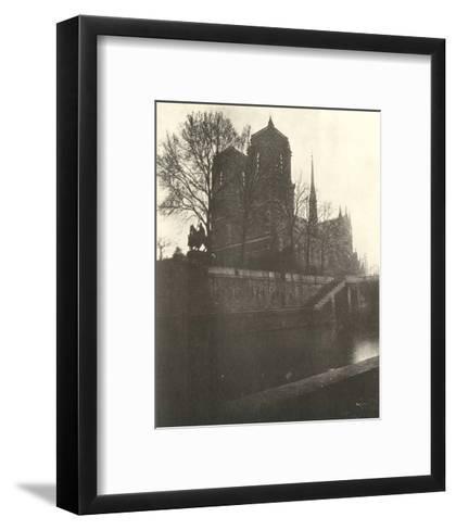 Notre-Dame Cathedral, Paris, 1920-Eugene Atget-Framed Art Print