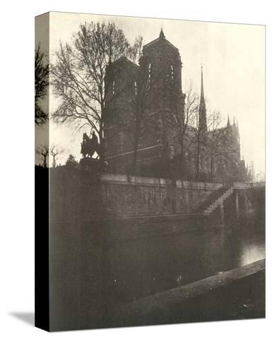 Notre-Dame Cathedral, Paris, 1920-Eugene Atget-Stretched Canvas Print