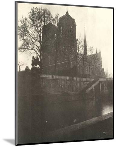Notre-Dame Cathedral, Paris, 1920-Eugene Atget-Mounted Art Print