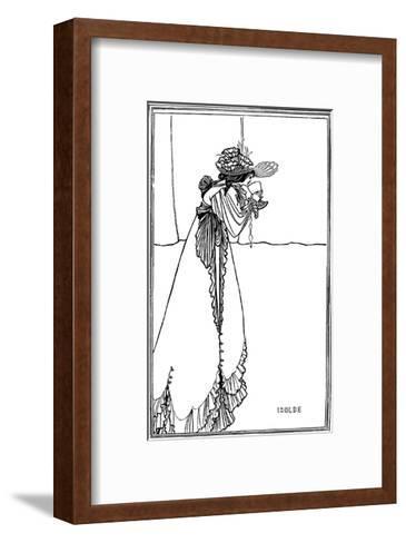 Isolde, 1890-Aubrey Beardsley-Framed Art Print
