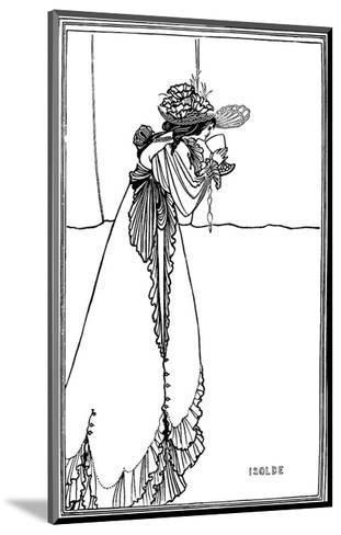 Isolde, 1890-Aubrey Beardsley-Mounted Art Print