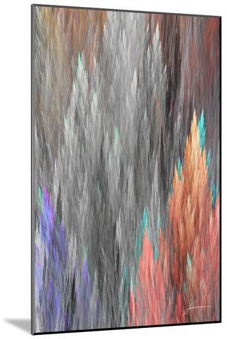 Brush Panels II-James Burghardt-Mounted Art Print