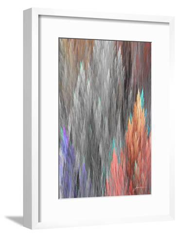 Brush Panels II-James Burghardt-Framed Art Print