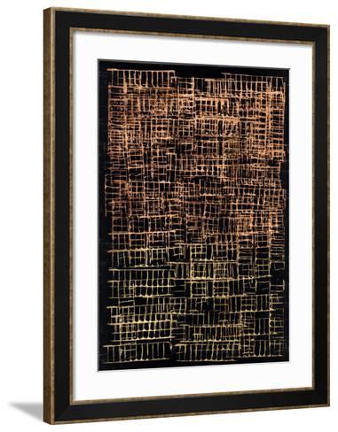 Crosshatch II-Jenna Guthrie-Framed Art Print
