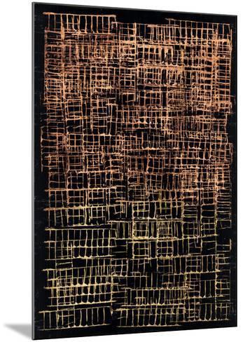 Crosshatch II-Jenna Guthrie-Mounted Art Print